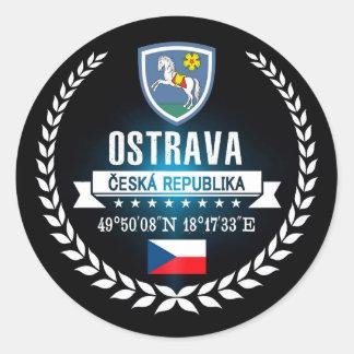Adesivo Redondo Ostrava