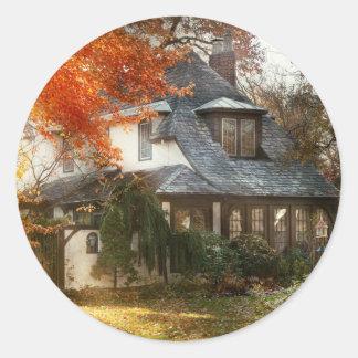 Adesivo Redondo Outono - em cada conto de fadas