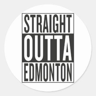 Adesivo Redondo outta reto Edmonton