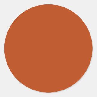 Adesivo Redondo Oxidação