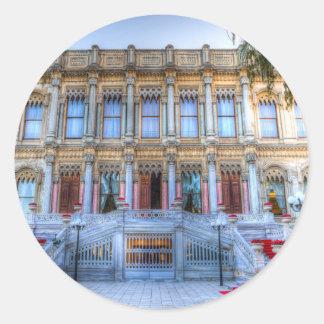 Adesivo Redondo Palácio Istambul Turquia de Ciragan