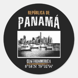 Adesivo Redondo Panamá