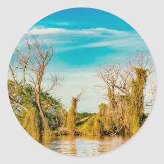 Adesivo Redondo Parana River, San Nicolas, Argentina