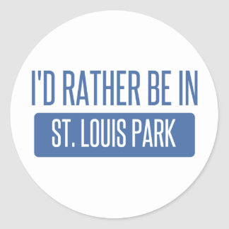 Adesivo Redondo Parque de St Louis