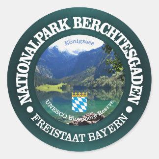 Adesivo Redondo Parque nacional de Berchtesgaden