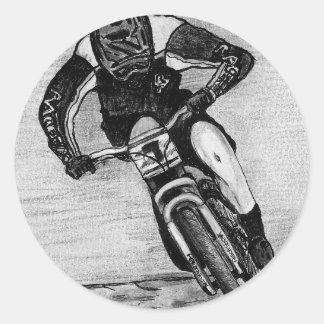 Adesivo Redondo Passeio do Mountain bike