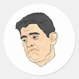 Adesivo Redondo Paul Ryan