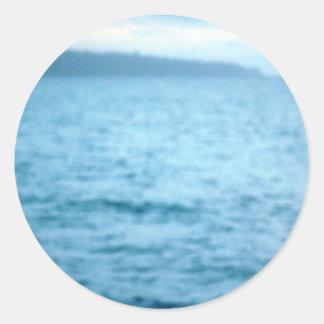 Adesivo Redondo pelicano pacífico