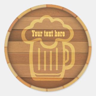 Adesivo Redondo Personalize sua cerveja
