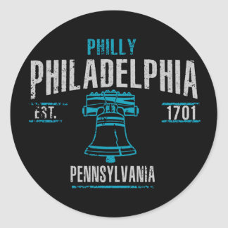 Adesivo Redondo Philadelphfia