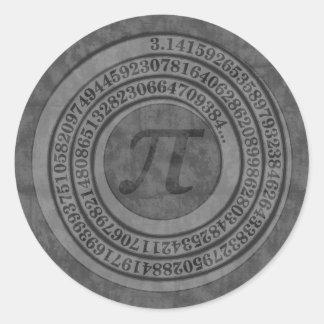 Adesivo Redondo Pi afligido a 125