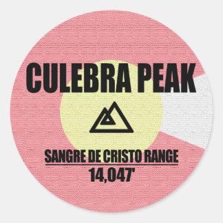 Adesivo Redondo Pico de Culebra