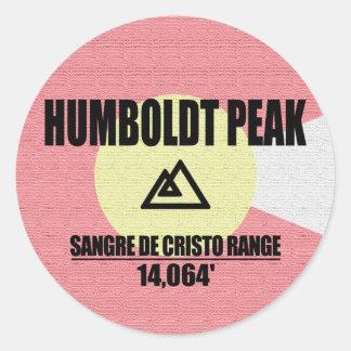 Adesivo Redondo Pico de Humboldt