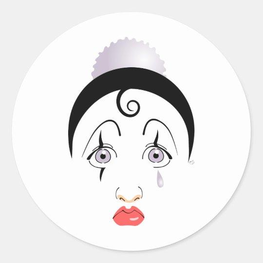 Adesivo Redondo Pierrot