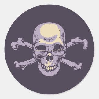 Adesivo Redondo Pirata Nerdy