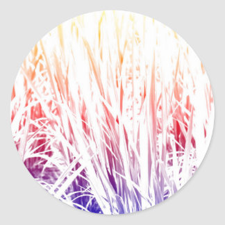Adesivo Redondo Planta de arroz