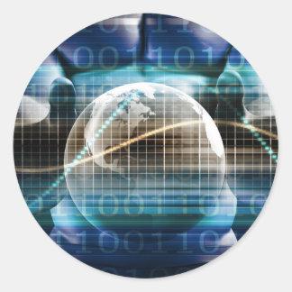 Adesivo Redondo Plataforma da segurança do controlo de acessos