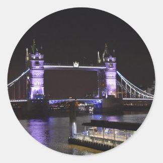 Adesivo Redondo Ponte da torre, Londres