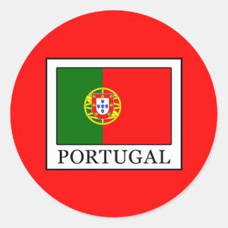 Adesivo Redondo Portugal