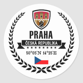 Adesivo Redondo Praha