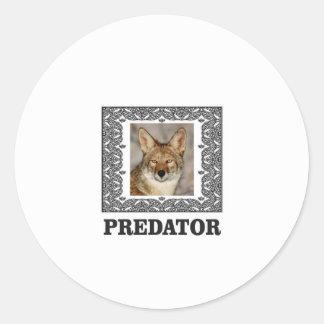 Adesivo Redondo Predador afiado