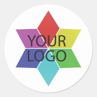 Adesivo Redondo promoção da empresa de negócio do símbolo do