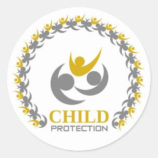 Adesivo Redondo proteção da criança