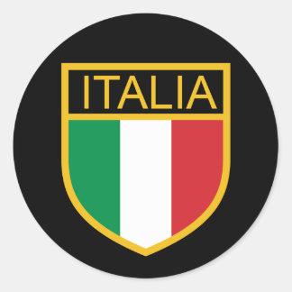 Adesivo Redondo Protetor de Italia