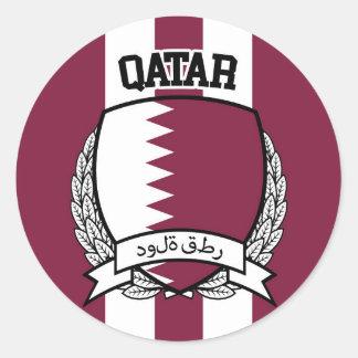 Adesivo Redondo Qatar