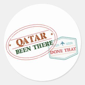 Adesivo Redondo Qatar feito lá isso