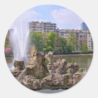 Adesivo Redondo Quadrado de Marie-Louise em Bruxelas, Bélgica