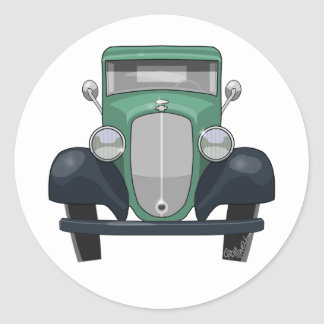 Adesivo Redondo Recolhimento 1935 de Chevy
