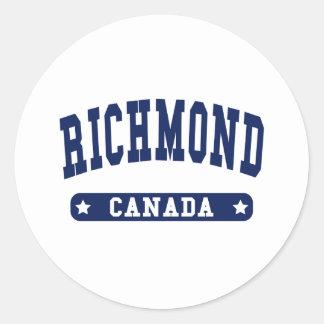 Adesivo Redondo Richmond