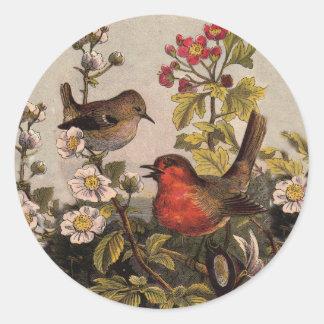 Adesivo Redondo Robins