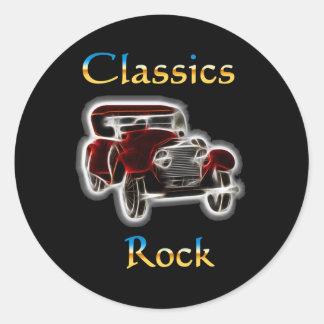 Adesivo Redondo rocha 2 dos clássicos