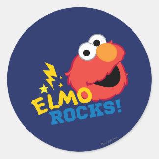 Adesivo Redondo Rochas de Elmo