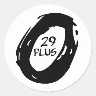Adesivo Redondo roda positiva da bicicleta do mountsin 29