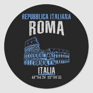 Adesivo Redondo Roma