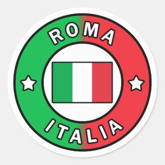 Adesivo Redondo Roma Italia