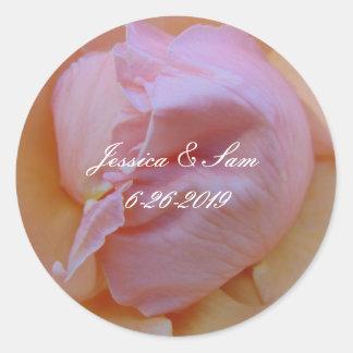 Adesivo Redondo Rosa delicado