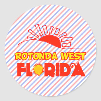 Adesivo Redondo Rotonda ocidental, Florida
