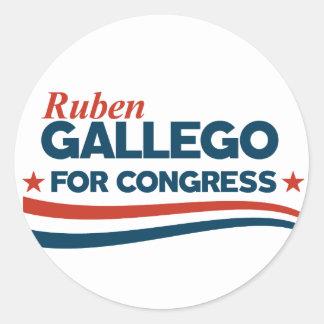 Adesivo Redondo Ruben Gallego
