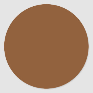 Adesivo Redondo Russet Brown