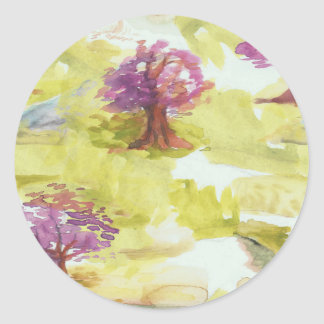 Adesivo Redondo sakura