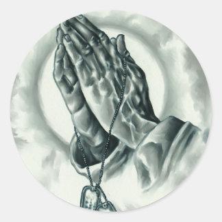 Adesivo Redondo Salmo 91