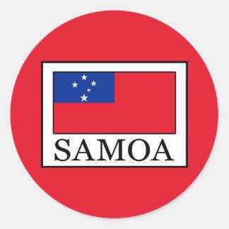 Adesivo Redondo Samoa