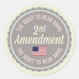 Adesivo Redondo Segunda alteração