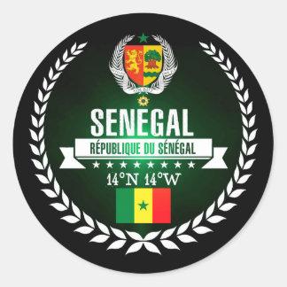 Adesivo Redondo Senegal