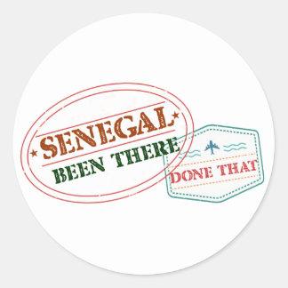 Adesivo Redondo Senegal feito lá isso