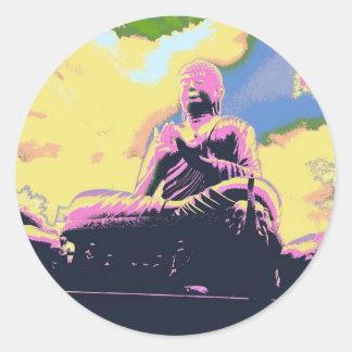 Adesivo Redondo Série de Dharma Buddha